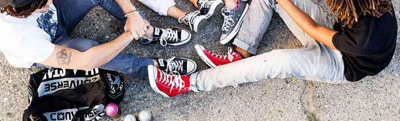 Giày Converse Cổ Cao