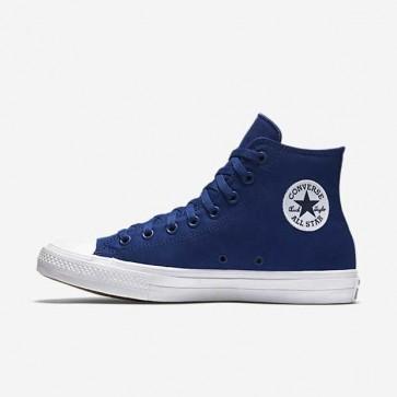 Giày converse chuck taylor 2 màu xanh dương cao cổ 66