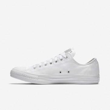 Giày converse classic màu trắng full cổ thấp 11