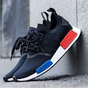 Mua Giày adidas NMD đen - phối màu xanh đỏ 111