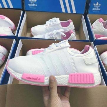 Mua Giày Adidas NMD trắng hồng 001