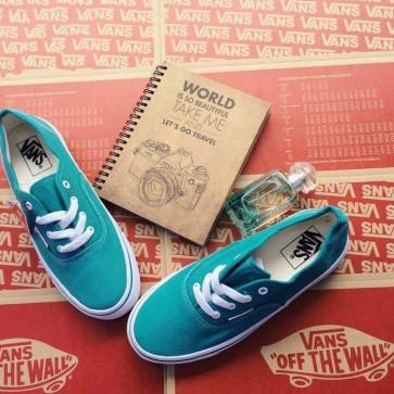 Mua Giày vans classic màu xanh ngọc 004