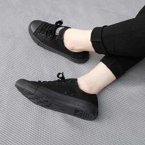Giày Converse đen tuyền thấp cổ 001