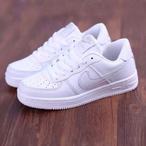 Giày nike air force one trắng full