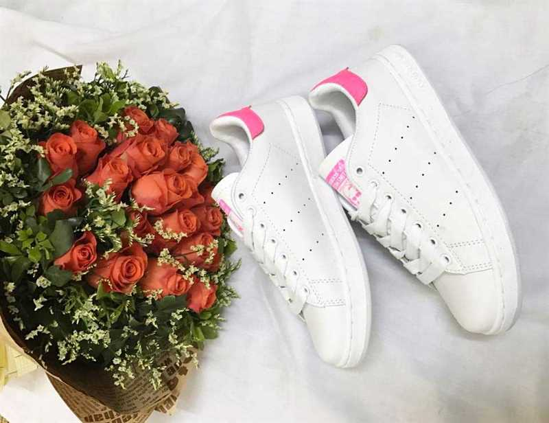 Giày Adidas Stan Smith Trắng hồng 003