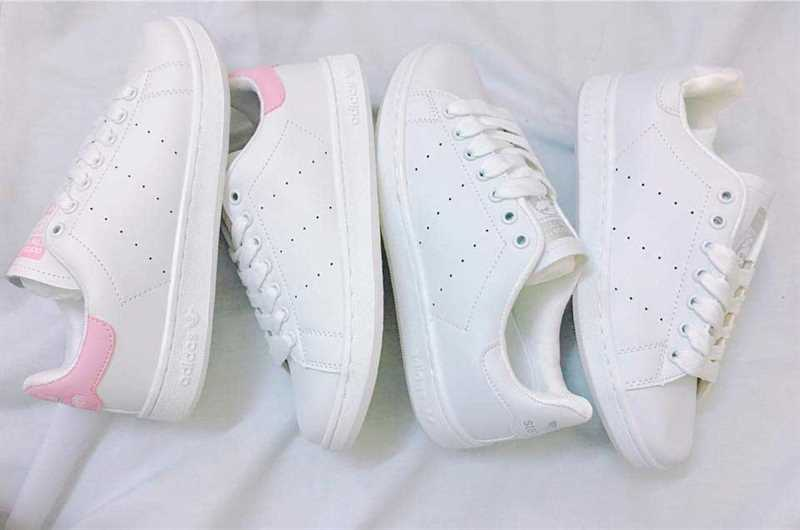 Giày Adidas Stan Smith Trắng hồng 002