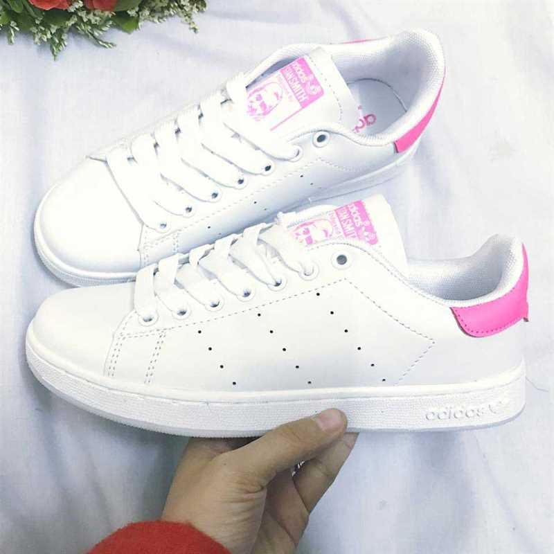 Giày Adidas Stan Smith Trắng hồng 001