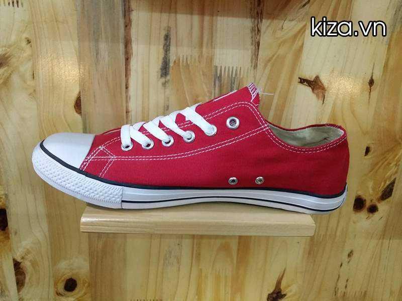 Giày Converse Classic thấp cổ màu đỏ tươi 1