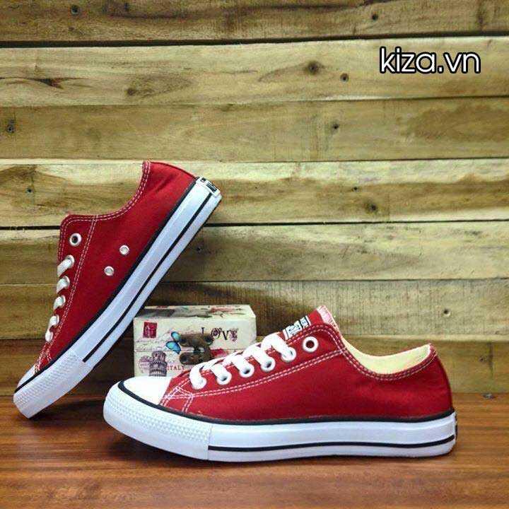 Giày Converse Classic thấp cổ màu đỏ tươi