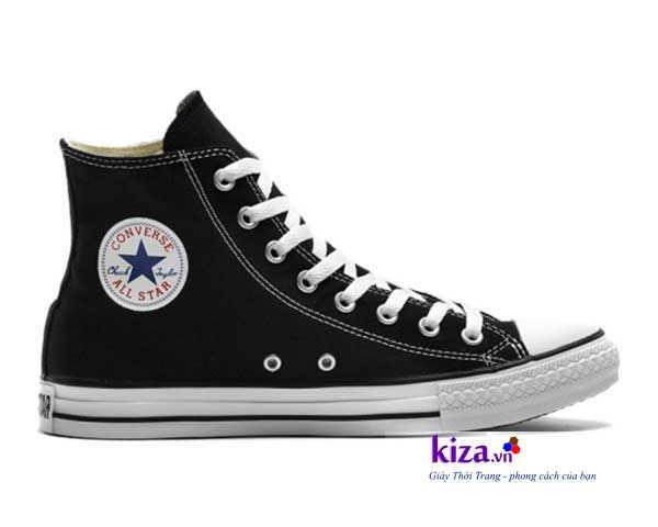 giay converse classic cao co mau den4 Giày Converse Classic cao cổ màu Đen