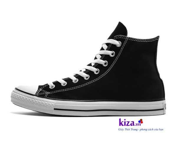 giay converse classic cao co mau den1 Giày Converse Classic cao cổ màu Đen