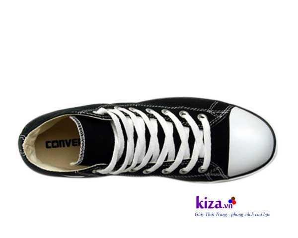 giay converse classic cao co mau den3 Giày Converse Classic cao cổ màu Đen
