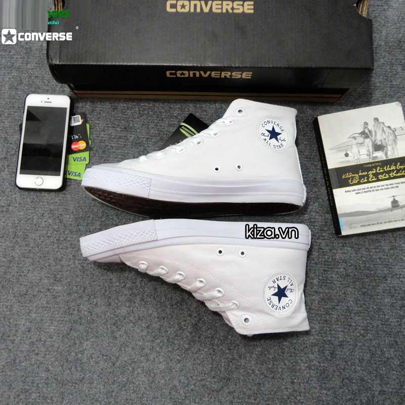 Giày converse chuck taylor 2 màu trắng cổ cao 2