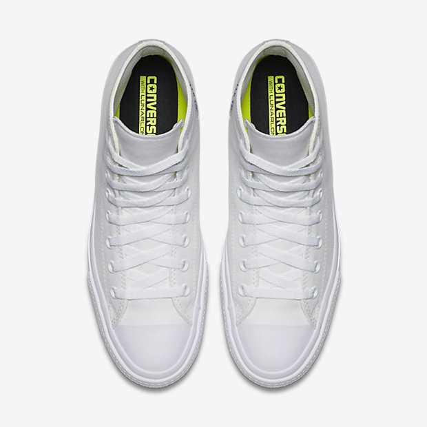 Giày converse chuck taylor 2 màu trắng cổ cao5