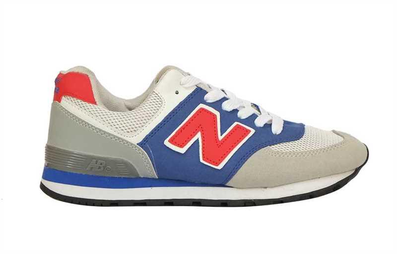 Giày new balance xanh trắng
