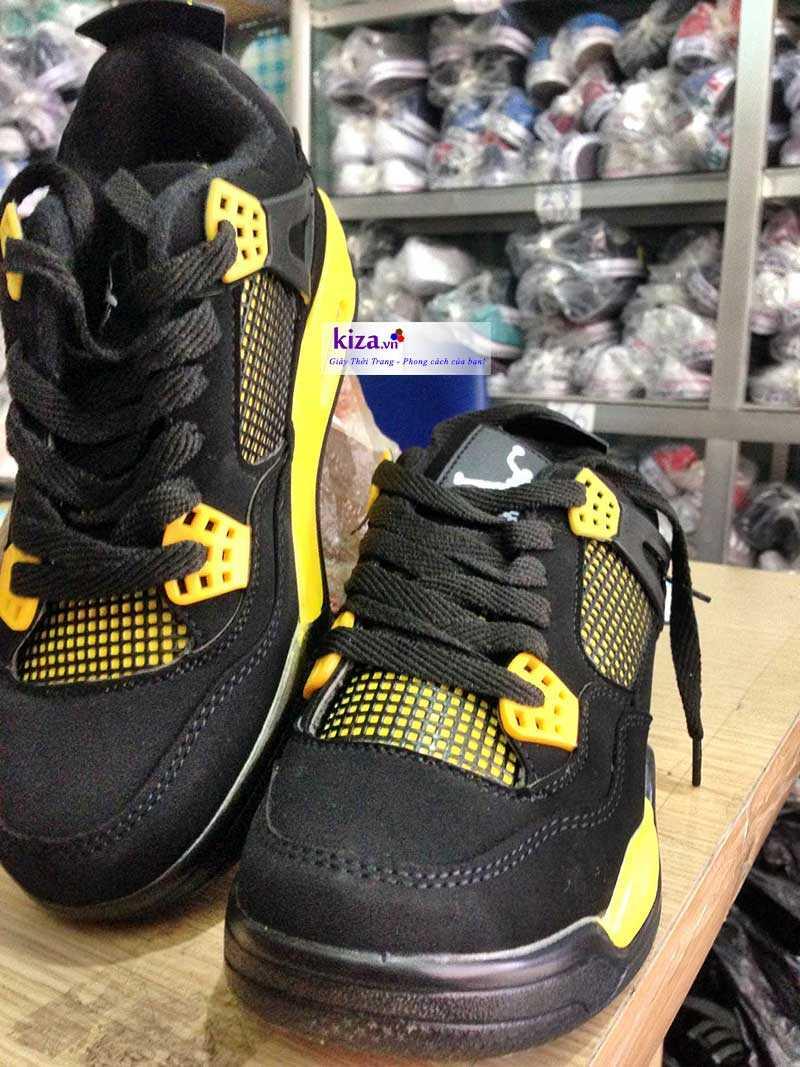 Giày Nike Jordan màu vàng đen 2