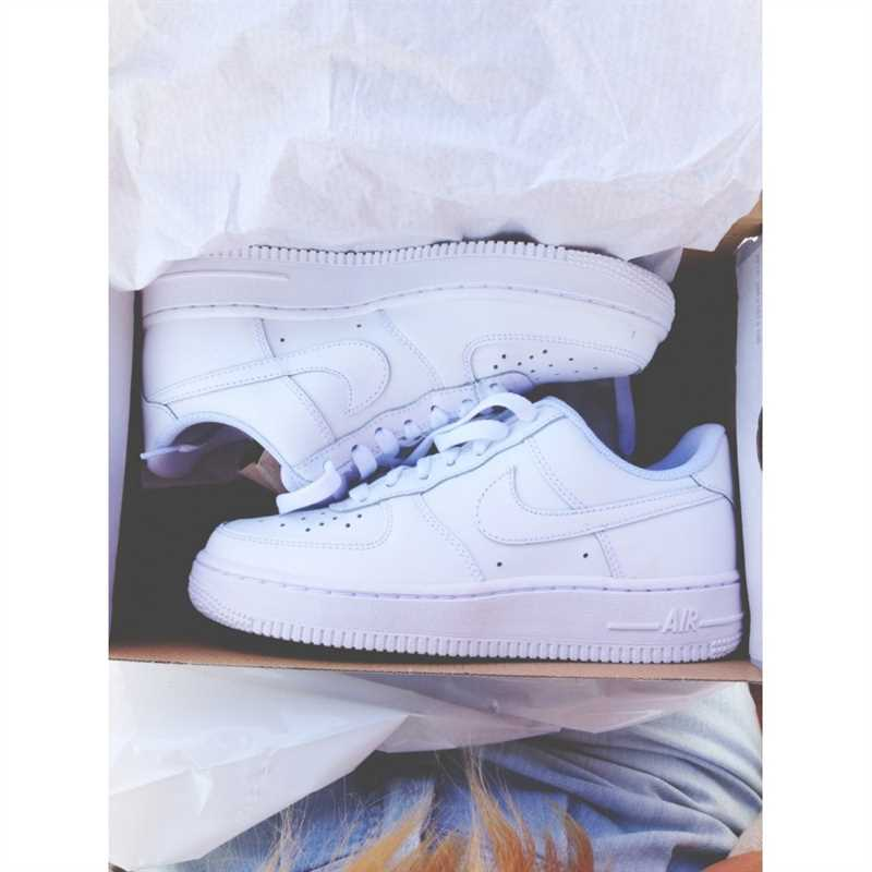 giay nike air force one all white 55