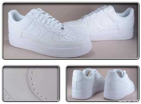 giay nike air force one all white 33
