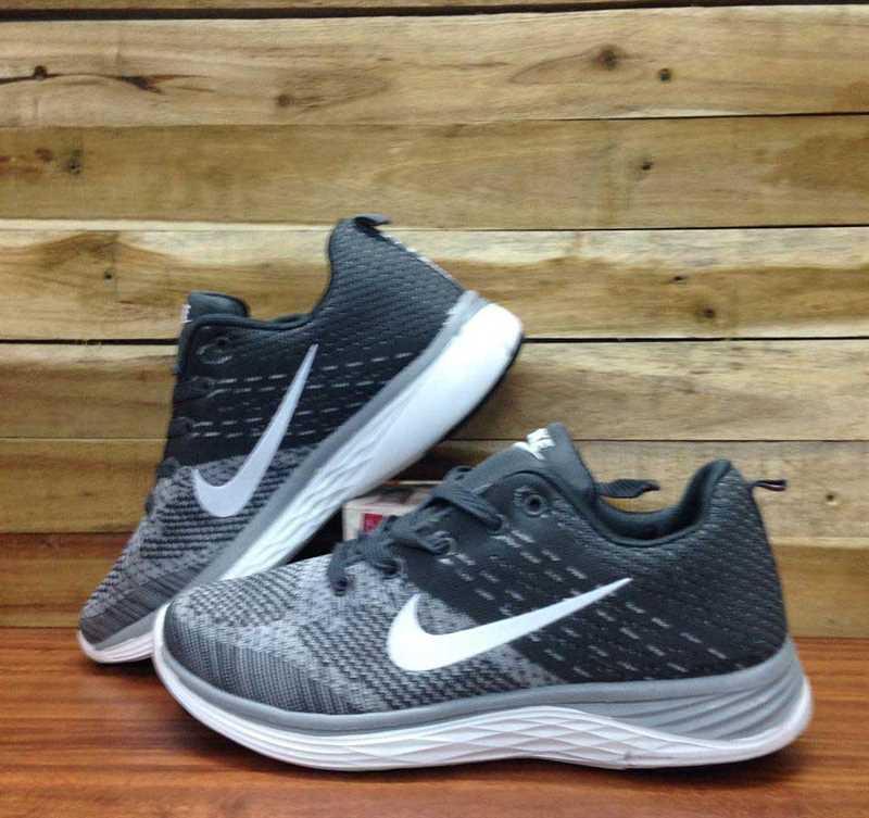 Giày Nike Luna phối màu Xám trắng 001