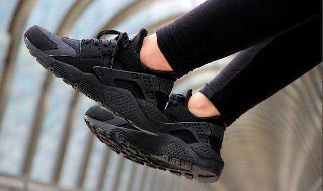 Giày Nike Huarache đen full 11