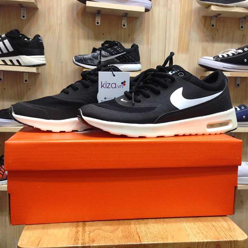 Giày Nike Air Max Thea đen trắng 01