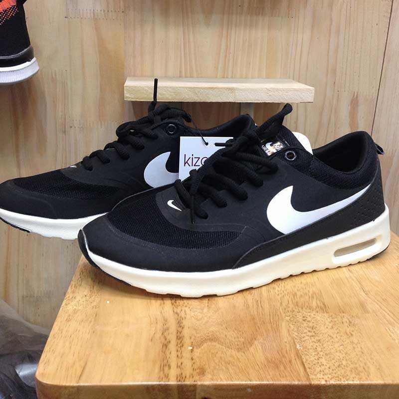 Giày Nike Air Max Thea đen trắng 03