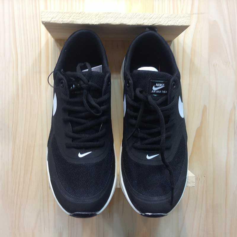 Giày Nike Air Max Thea đen trắng 05