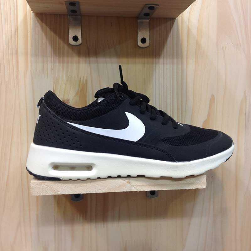 Giày Nike Air Max Thea đen trắng 07