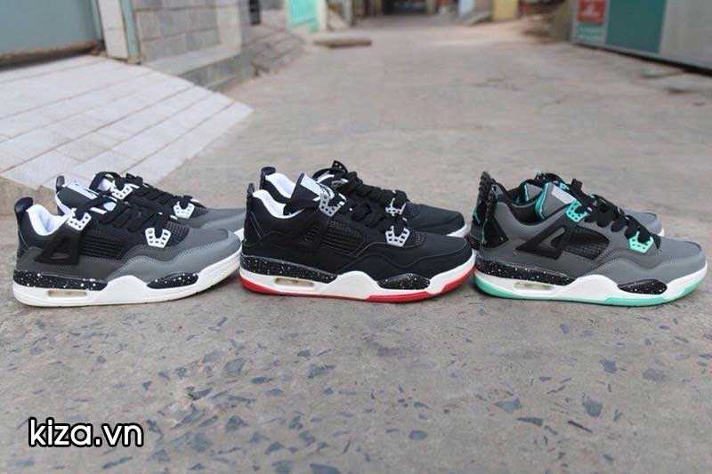 Mua Giày Nike Jordan 4 phối màu đen đỏ 4
