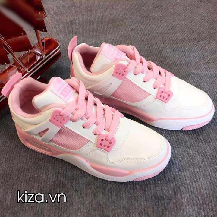 giày nike jordan trắng hồng 001