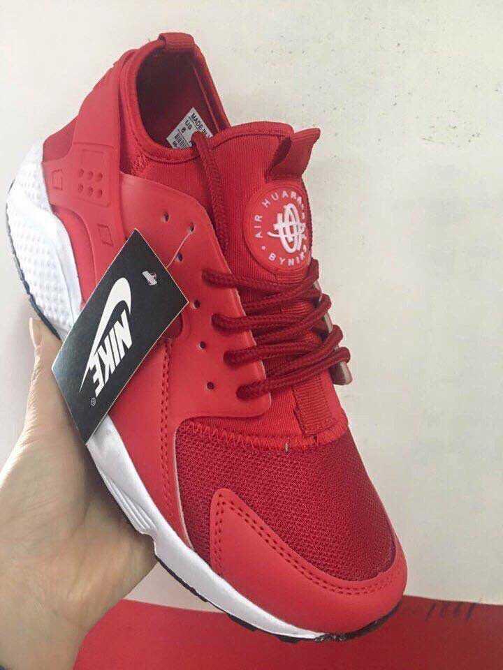 Giày Nike Huarache đỏ trắng 003