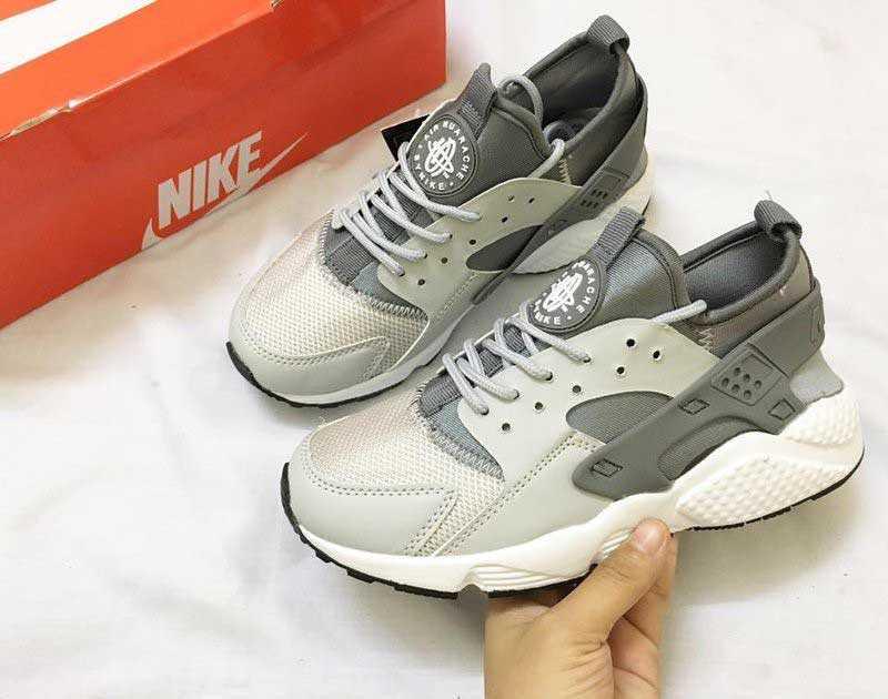 Giày Nike Huarache xám trắng 003