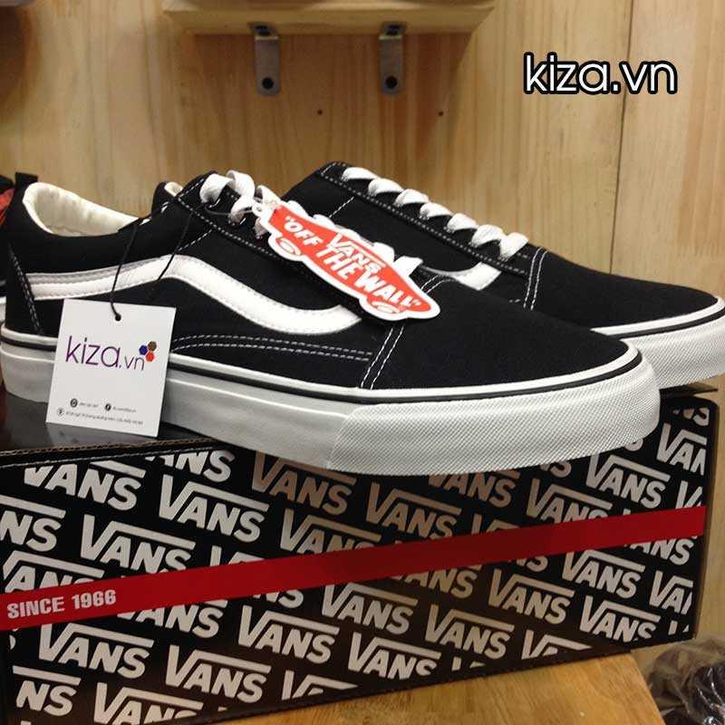 Giày Vans Old Skool phối màu đen trắng 1