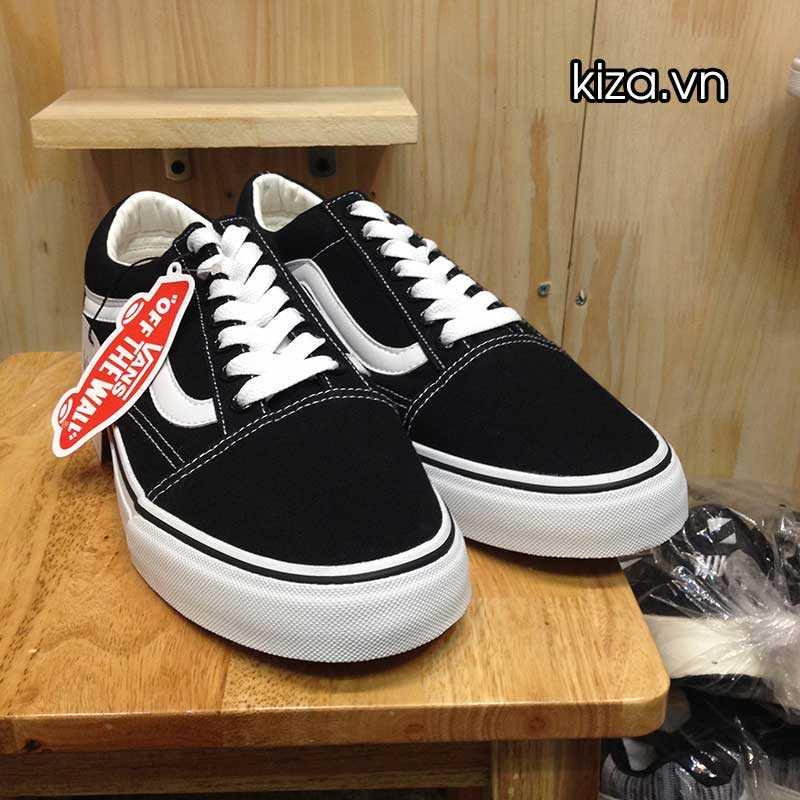 Giày Vans Old Skool phối màu đen trắng 8