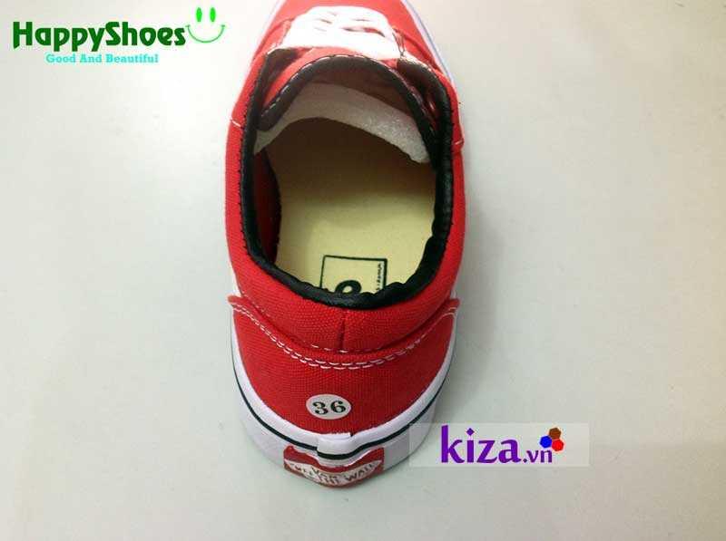 Giày Vans Old Skool phối màu đỏ trắng 2