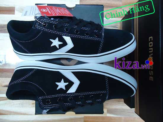 giay-converse-star-chevron-badge-ox-black-white-130664c-da-lon-den