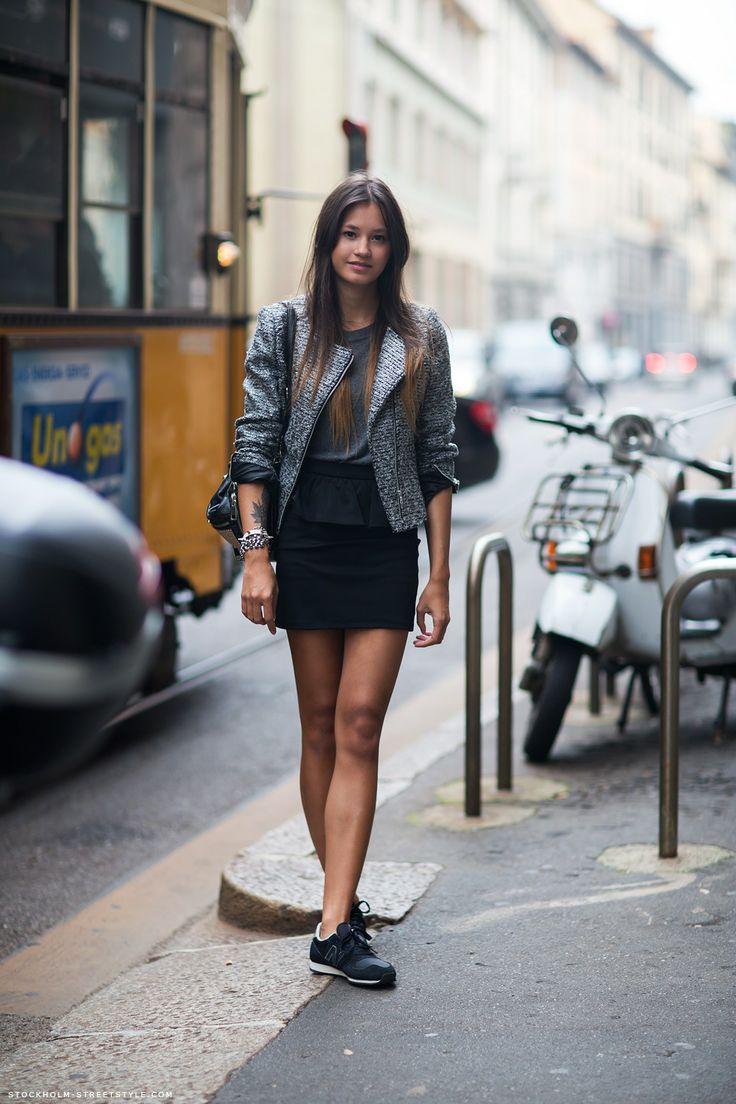 Trẻ trung thời trang cùng giày new balance