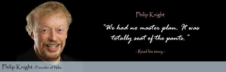 """Philip-Knight viết lên lịch sử phát triển thương hiệu """"Nike"""""""