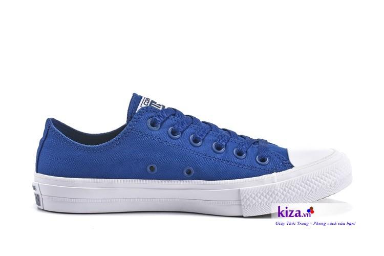 Giày converse chuck 2 màu xanh dương
