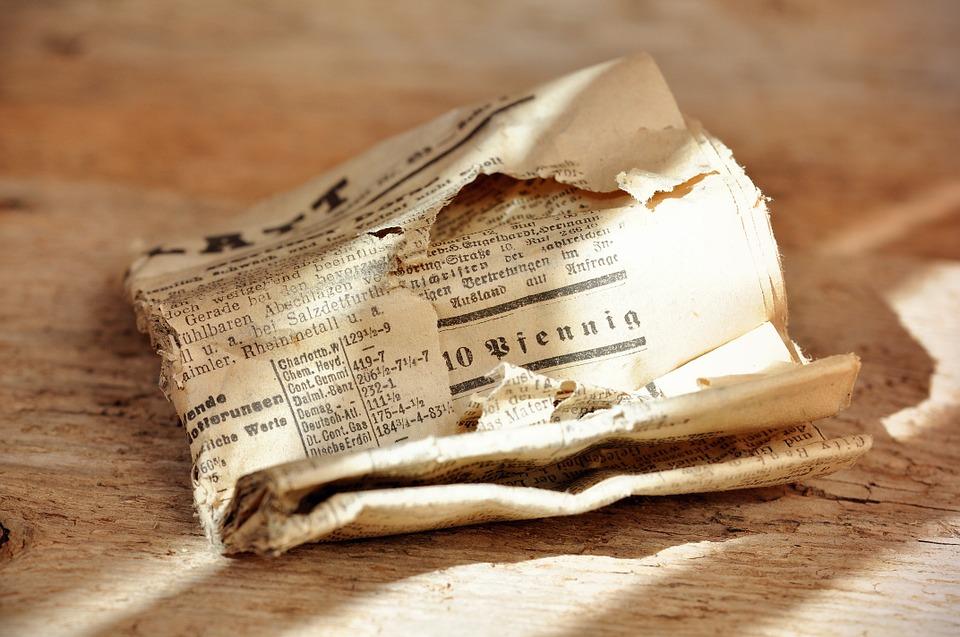 Sử dụng báo cũ là một phương thức hiệu quả