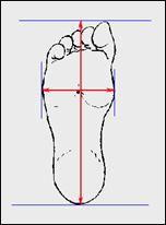 Tìm hiểu cách tính size giày adidas đo bàn chân