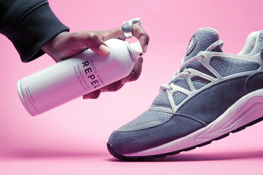 Xịt chống nước cho giày - Mẹo nhỏ giúp giày luôn sạch