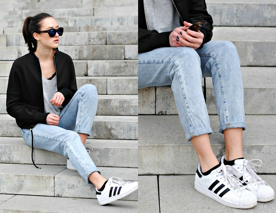 Mix đồ đẹp mắt cùng Adidas Superstar