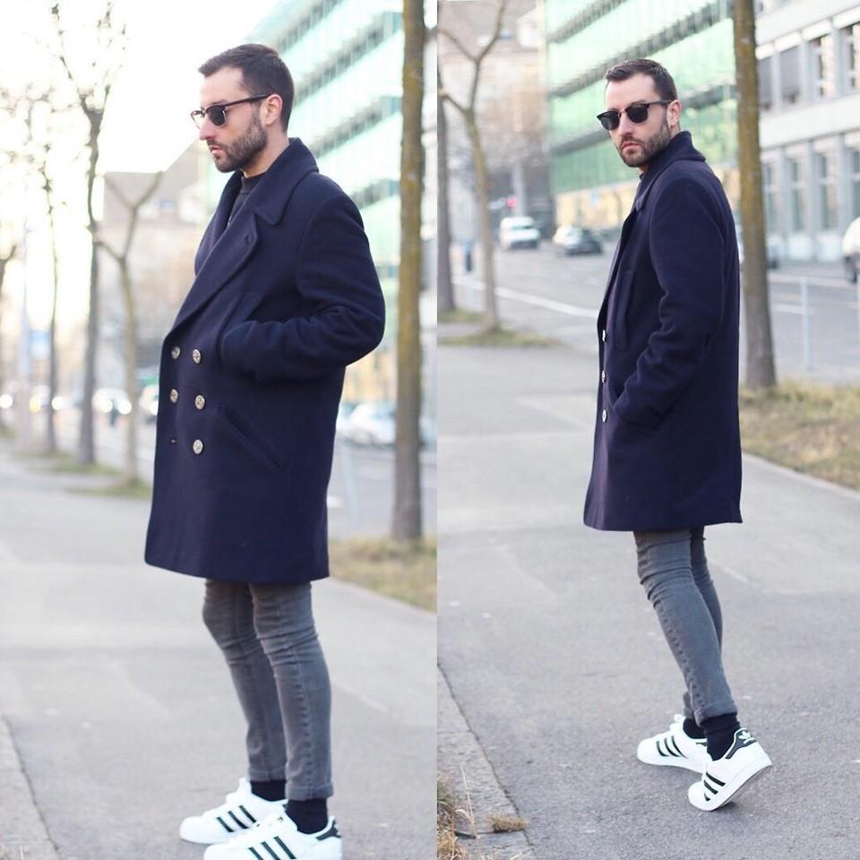 Dạo phố trong thời tiết se lạnh cùng giày Adidas