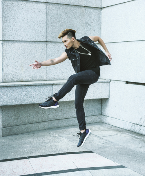 cách phối đồ với giày Adidas nam cực sành điệu