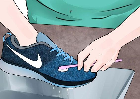 cách giặt giày thể thao Nike