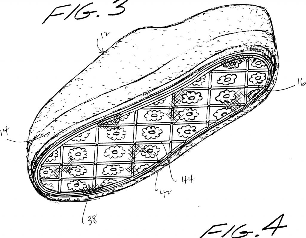 Mẫu đế giày converse thời kỳ đầu tiên