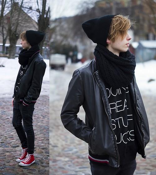 Cách kết hợp quần áo với giầy converse