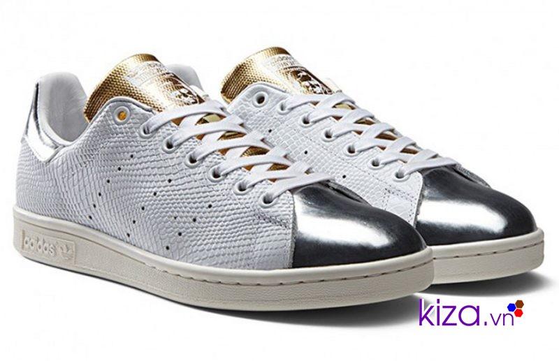 Giày Adidas Stan Smith bằng da kinh điển