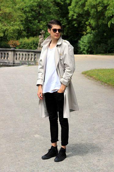 Cách mang giày converse cổ cao đẹp kết hợp jeans/kaki khỏe khoắn